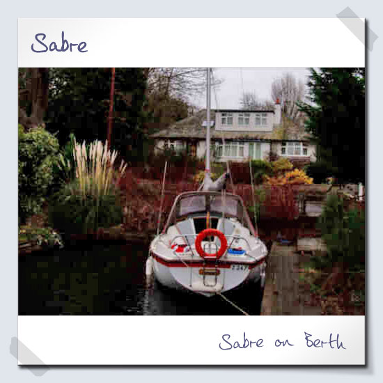 Sabre on Berth
