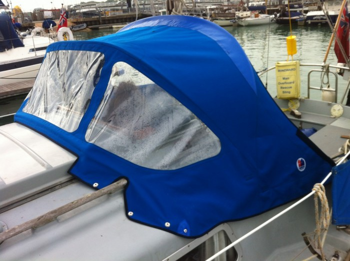 2015 Sprayhood by Sanders of Lymington