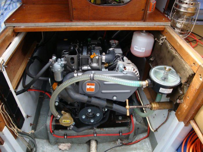 Skean Dhu, Sabre 27 engine
