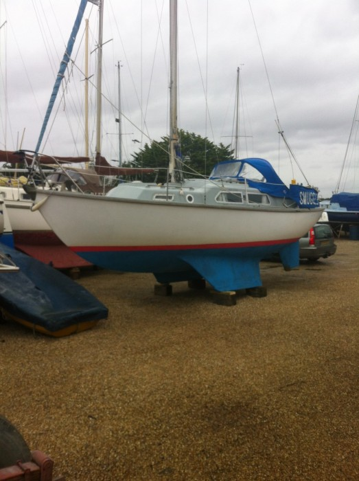 In West Solent Boat Builders Yard, Keyhaven  Winter 2015