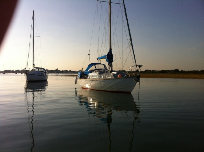 SMUGGLER at high water, Keyhaven