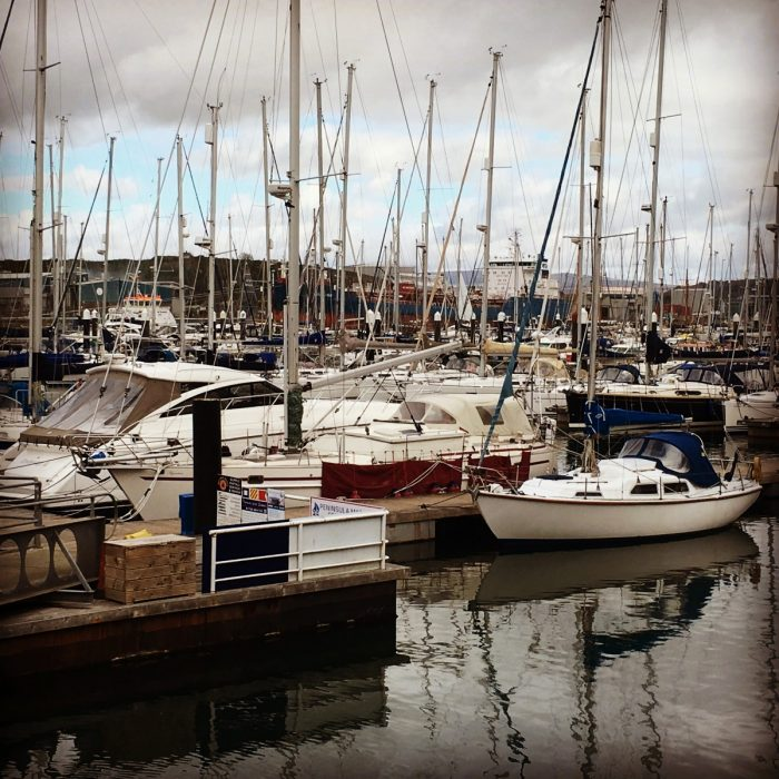 Sabreon in Plymouth Yacht Haven
