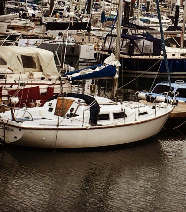 Sabreon in marina