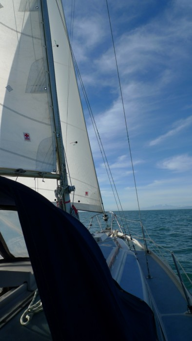 Scarab – Sabre 27 under sail