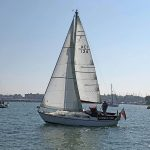 Sabre 27, Summer Girl Under Sail