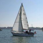 Sabre 27, Summer Girl Under Sail