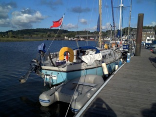 Visitors' berths, Kirkcudbright