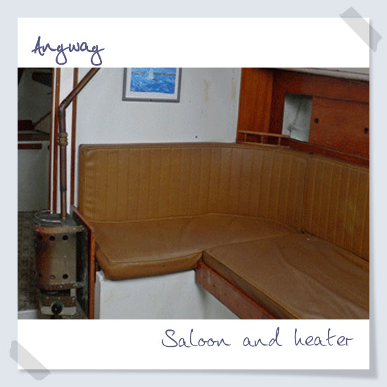 Saloon and heater
