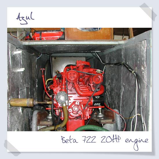 Beta 722 20HP engine