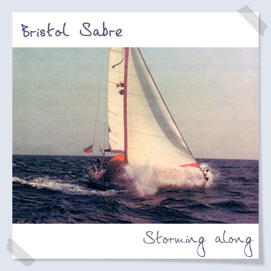 Storming along