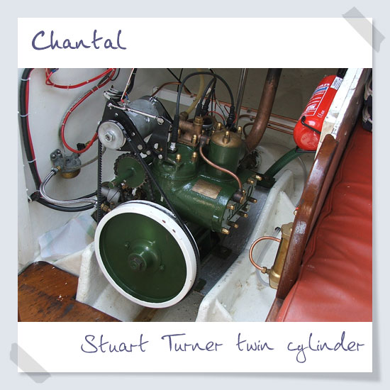 Stuart Turner twin cylinder engine