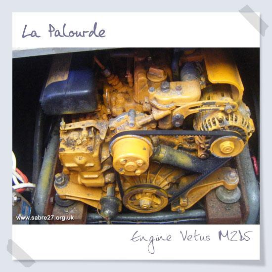 Engine Vetus M2D5