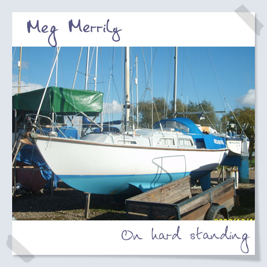 On hard standing