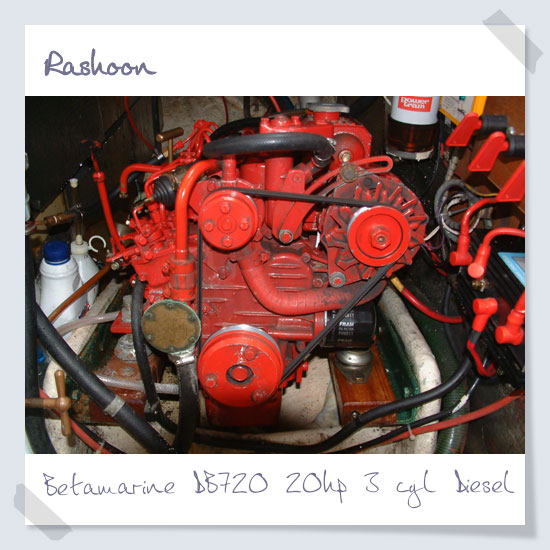 Beta DB720 20HP 3 cylinder diesel