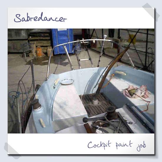 Cockpit paint job