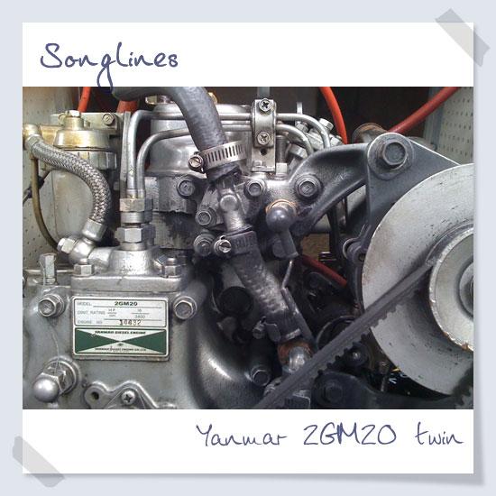Yanmar 2GM20 twin